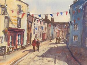 John-A-Case-Contemporary-Watercolour-Frome-Street-Scene