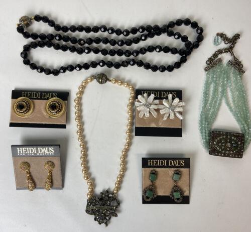 Heidi Daus Costume Jewelry Lot - Missing Stones, G