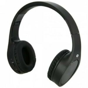 ILIVE-BLUE-iAHB74B-Bluetooth-Headphones-with-Mic-Matte-Black-with-3-5mm-input