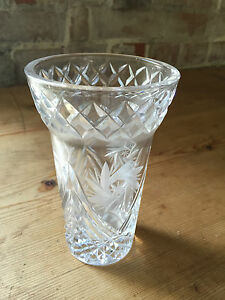 VNTAGE ART DECO STYLE GEOMETRIC DESIGN ETCHED GLASS VASE - <span itemprop=availableAtOrFrom>Gt. Yarmouth, Norfolk, United Kingdom</span> - VNTAGE ART DECO STYLE GEOMETRIC DESIGN ETCHED GLASS VASE - Gt. Yarmouth, Norfolk, United Kingdom