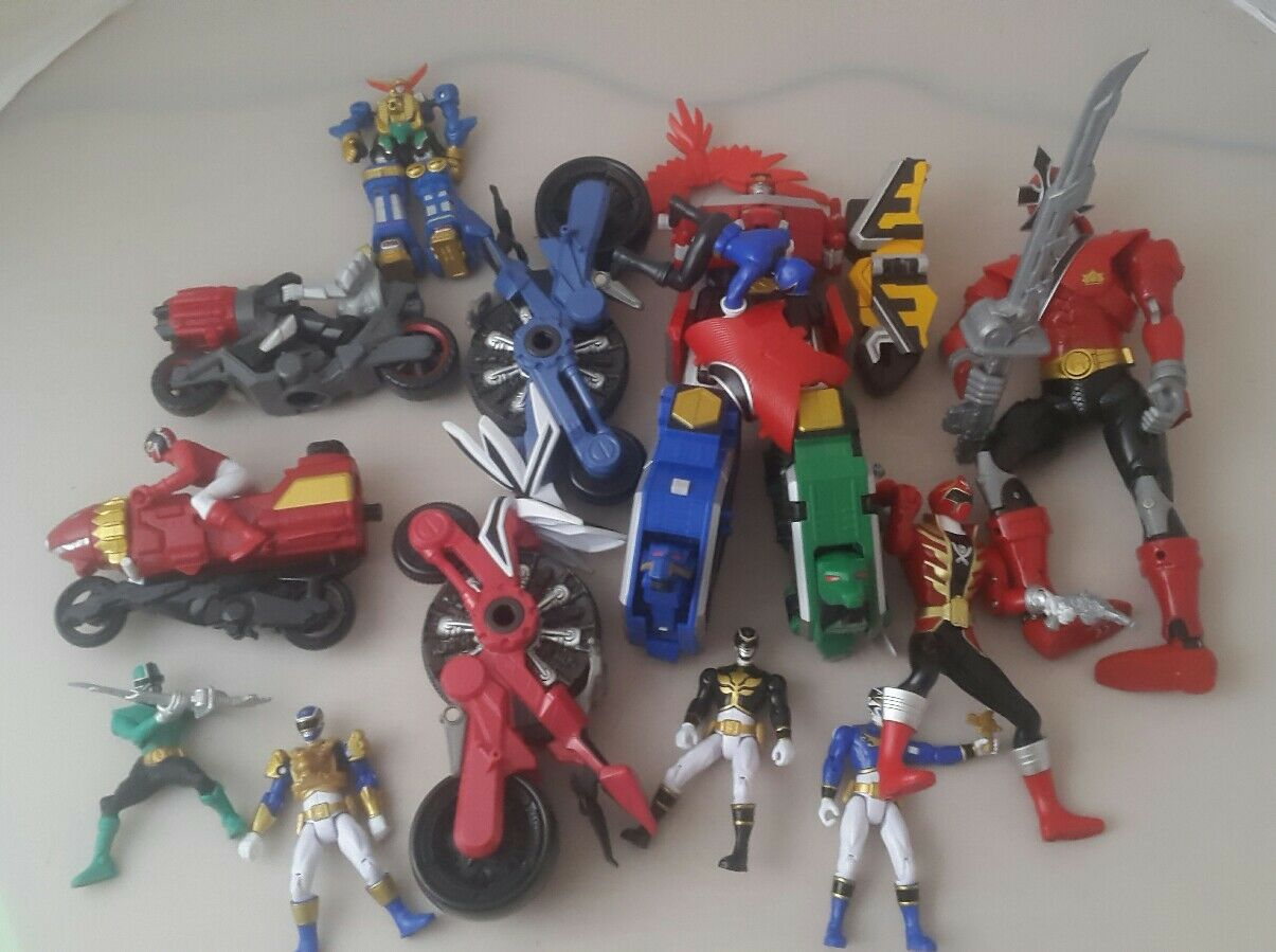 Power rangers figures bundle - power rangers rangers rangers 00s figure bundle 92122c