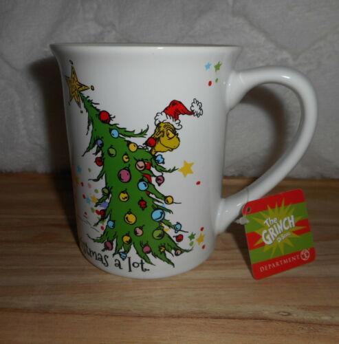DEPT 56 HOW THE GRINCH STOLE CHRISTMAS CINDY LOU WHO 16 OZ COFFEE MUG NEW