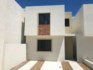 Casa nueva int. de 3 recamaras, una en planta baja, col. Laguna de la Puerta, Tampico