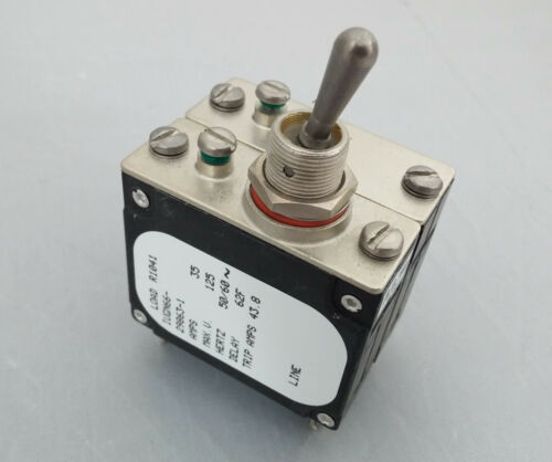 IUGN66-29863-1  Toggle Circuit Breaker 35Amp 125v AIRPAX//SENSATA