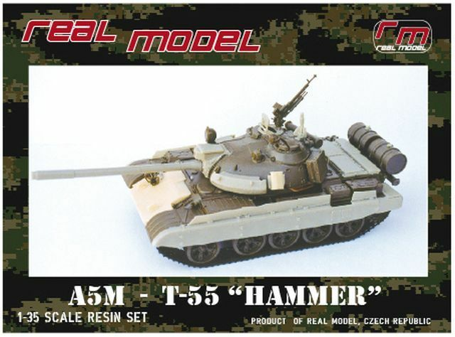 1 35th Real Model Czech T-55 AM5  Hammer  conv