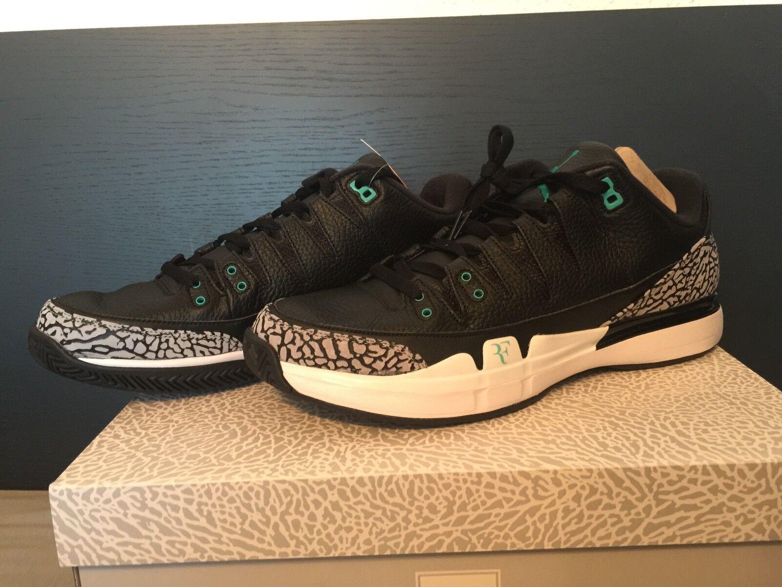 Nike Zoom Vapor RF x AJ3 ATMOS 2017 - Air Jordan - Roger Federer - 031 - US 12,5