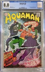DC-AQUAMAN-35-CGC-8-0-1st-APPEARANCE-BLACK-MANTA-1967-OCEAN-MASTER-CLEAN-SLAB