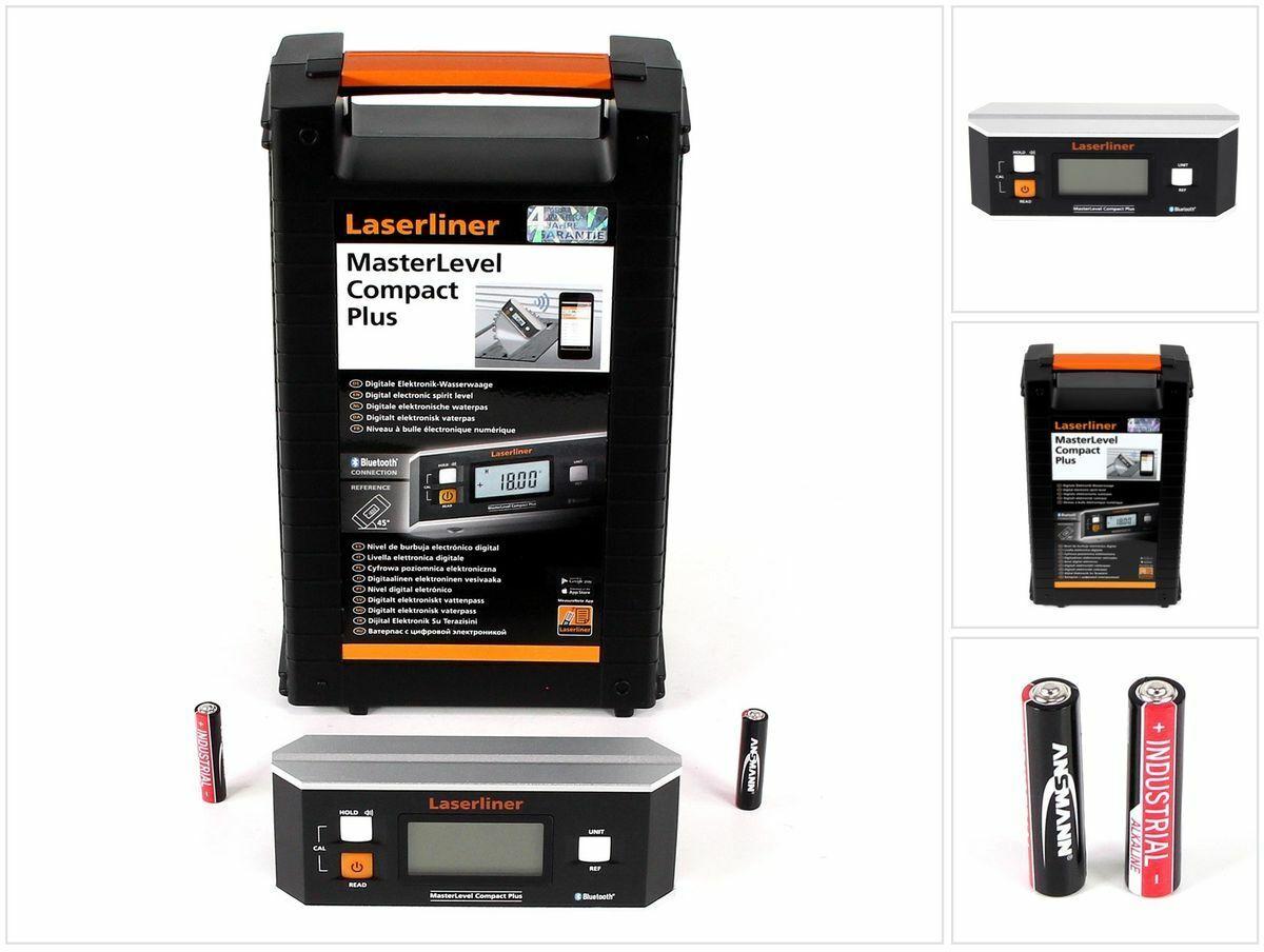 Laserliner MasterLevel Compact Plus Digitale Elektronik-Wasserwaage ( 081.265A )