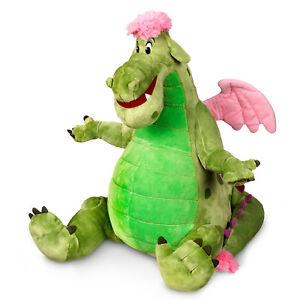 Disney-Store-PETE-039-S-DRAGON-ELLIOTT-Plush-Medium-Stuffed-Animal-Toy-Eliott-14-034