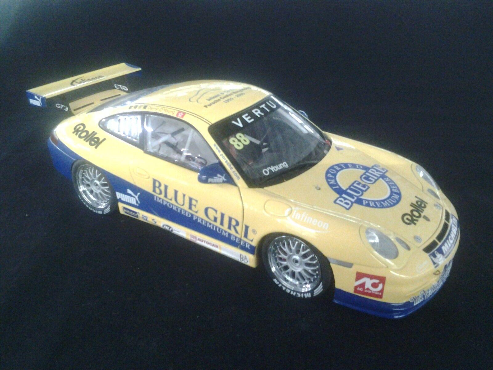 bilkonst Porsche 911 GT3 2005 1 18 O'Young (CHN) bilrera Cup Macao (MCC)