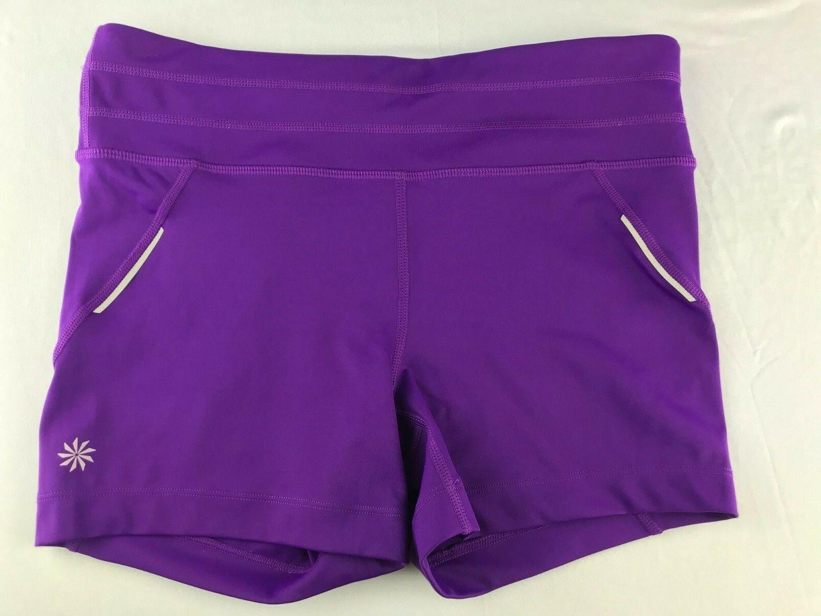 ATHLETA Purple Yoga / Running / Cycling / Spin Sh… - image 2
