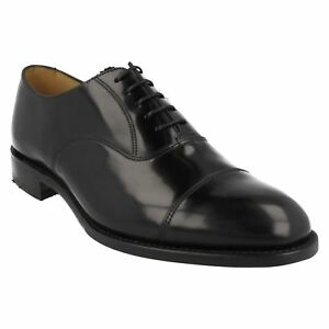 Lacets Poli En Toe Hommes 747b Cuir Formelle Noir Chaussures Oxford Bout Loake AXqXw4f