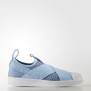 newest collection 74a9a c0e34 Image is loading New-Adidas-Original-Womens-Superstar-Slip-On-BB2121-