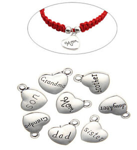 20pcs-Nice-Alloy-Heart-Family-Name-Charm-jewelry-Finding-bracelet-necklace