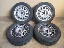 Stahlfelgen Winterreifen 185 55 VW Golf 3 Passat 35i Corrado 6x15 ET35 5x100
