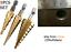 3-pcs-3x-Titanium-Step-Core-Drill-Bits-3mm-20mm-HSS-Tools-foret-unibit-uni-bit miniature 1