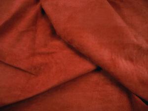 Clearance Grade 2 Pig Peau Daim De Porc-velours Rouge Brique Barkers Cache H363-afficher Le Titre D'origine