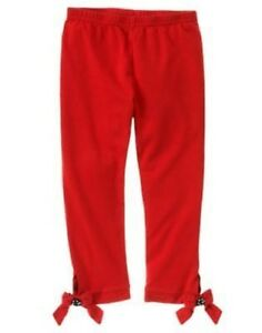 GYMBOREE-WINTER-PENGUIN-RED-BOW-BUTTON-CROP-STRETCH-LEGGINGS-4-5-6-9-10-12-NWT