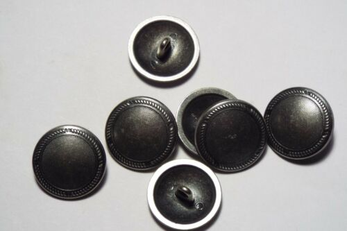 8pc 20mm Antique Pewter camisa de metal cepillado Blazer Abrigo Chaqueta Niño botón 2774