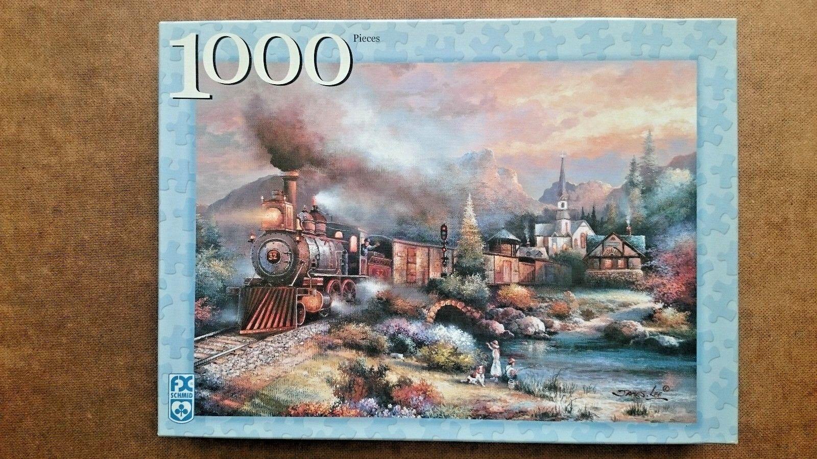 Maryland Mountain Express 1000 Piece Jigsaw By FX Schmid 2001