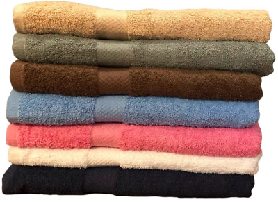 """Springfield Linen 6 Pack Bath Towels Extra-Absorbent 100/% Cotton 27/"""" x 54/"""""""