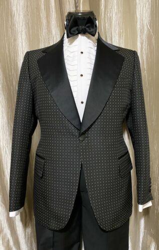 Mens Vintage Formal Tuxedo Formal Jacket