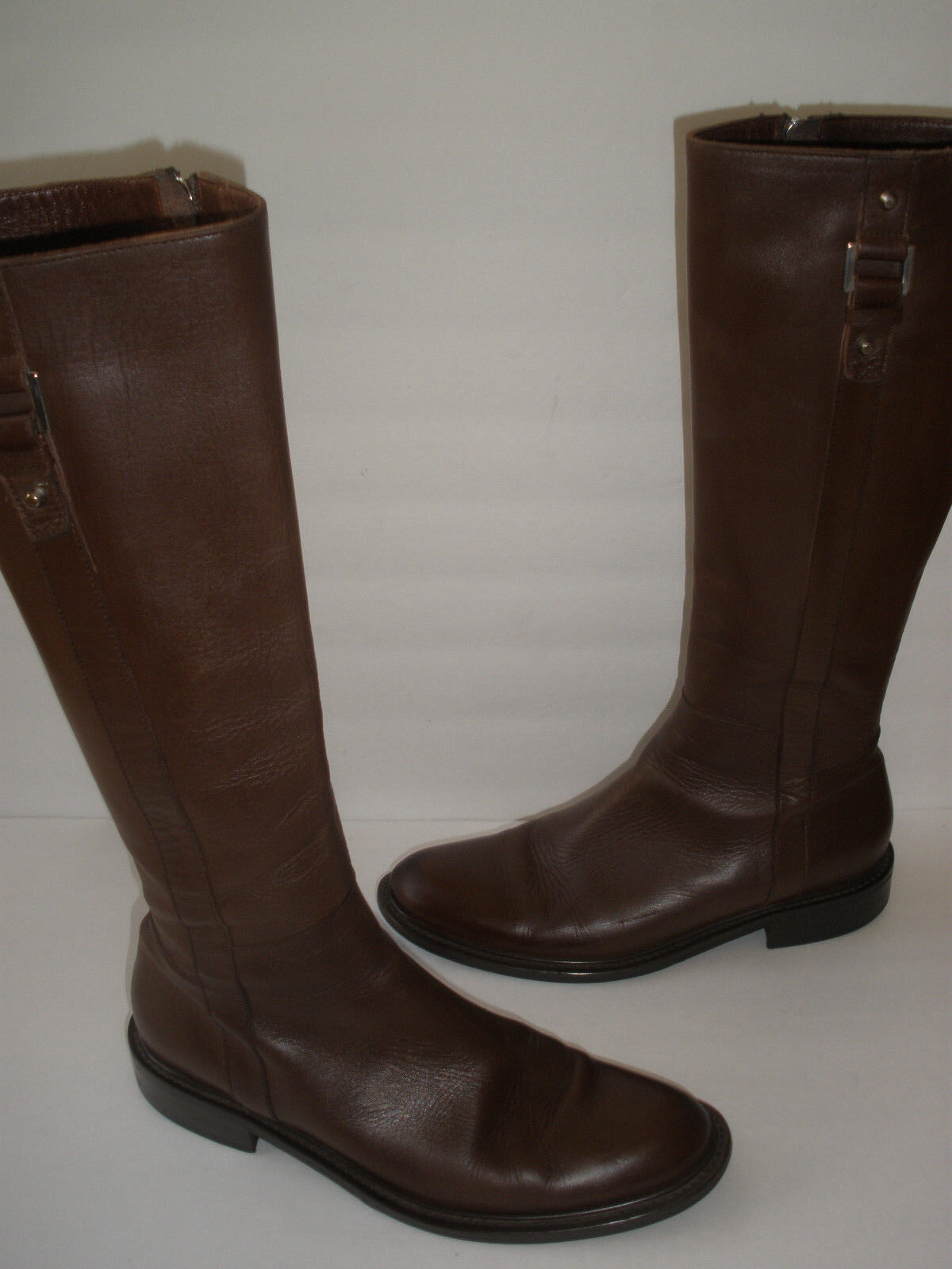 PHILOSOPHY DI ALBERTA FERRETTI RIDING LEATHER BOOT US 8.5-9 EUR 39  ITALY