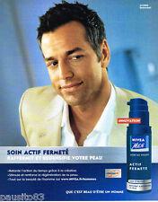 PUBLICITE ADVERTISING 085  2005  NIVEA MEN  soins de la peau homme