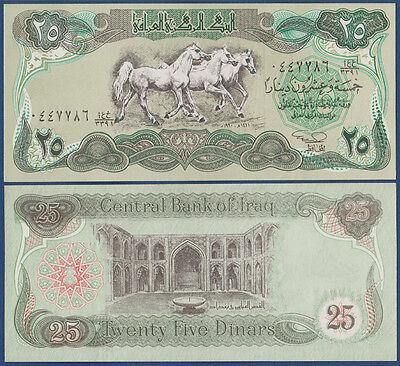 IRAK / IRAQ  25 Dinars 1990 UNC  P.74 b