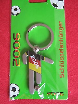 #(6) Fan-artikel / Brd: 1 Schlüsselanhänger: Fussball-weltmeisterschaft 2006,ovp