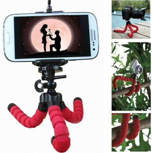 """TREPPIEDE FLESSIBILE SUPPORTO FINO 6/"""" SNODABILE FOTOCAMERA VIDEOCAMERA SMARTPHON"""