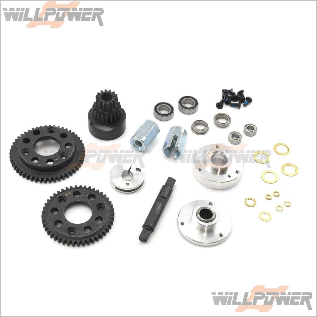 1 8 REX 2-Speed Conversion Kit  SEM2251 (RC-WillPower) G.V. Model REX