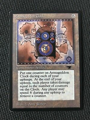 4th Edition *CCGHouse* Magic MTG NM Armageddon Clock X1