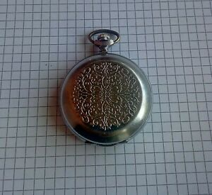 pocket watch soviet ruskik lightning molnia