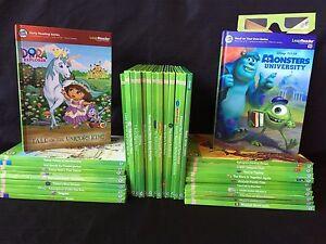 Leap-Frog-TAG-Books-Lot-Disney-Pixar-Princess-Toy-Story-Cars-Spiderman-Leapfrog