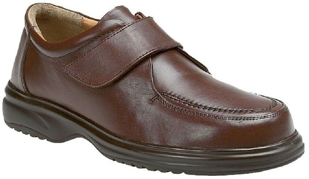 Roamers M460 Leather Apron Fermeture Scratch Loisir Léger Chaussures Pied Large