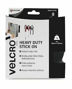 VELCRO® Brand Heavy Duty Self Adhesive Stick on Tape 5CM x 2.5m White VEL-EC6024
