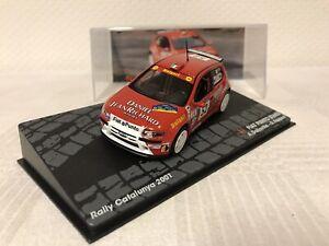 Fiat-Punto-S1600-1-43-Rallye-Geschenk-Modellauto-Modelcar-Spielzeug-Top-Raritaet