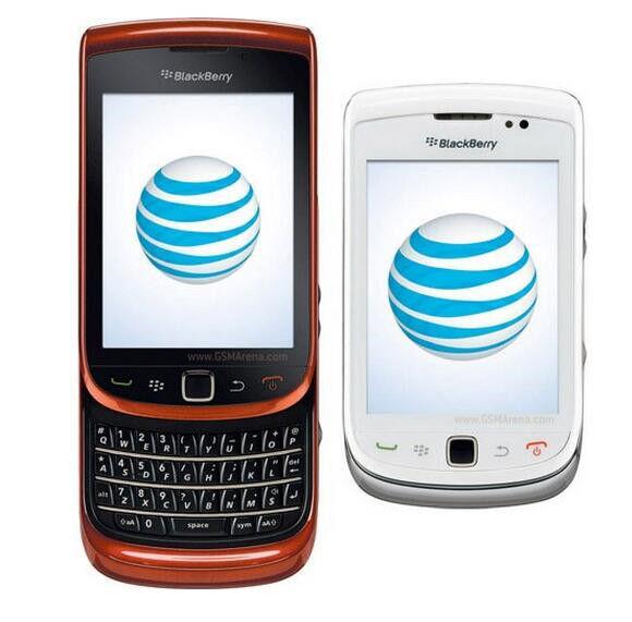"Unlocked Original BlackBerry Torch 9800  AT&T GPS GSM 3.2"" 5MP Smartphone White"