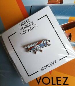 778e104702 Details about NEW Louis Vuitton VOLEZ VOGUEZ VOYAGEZ Special Edition  Pintrill Plane Pin RARE