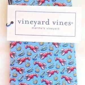 Nwt Vineyard Vines Boys Tie Lobster And Lemons  $49.50 NEW