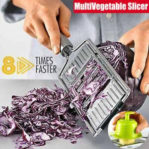 Multi-Purpose-Vegetable-Slicer-Peeler-Kitchen-Tool-Stainless-Steel-Grater-DD