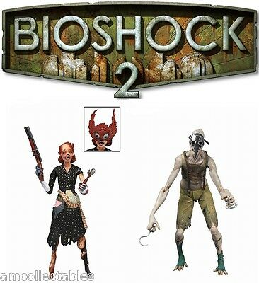 NEW /& RARE NECA BIOSHOCK 2 CRAWLER SPLICER /& LADYSMITH SPLICER