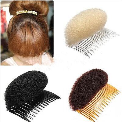 Chic Sexy Hair Styler Volume Bouffant Beehive Shaper Bumpits Bump Foam Comb AUCB