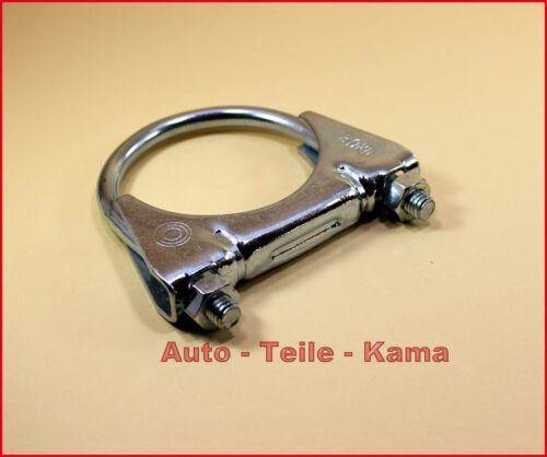 Montageschelle 1 x Auspuffschelle für Ford Auspuff Clamp M8 Ø 60 mm