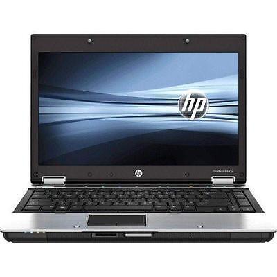 "Hp EliteBook 8440p Intel i5 4GB Ram 500GB HDD 14.1"" Screen Windows 10 Pro Laptop"