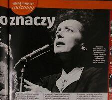 Edith Piaf, Humphrey Bogart, Jerzy Kossela, Anna Jantar, MALGORZATA KOZUCHOWSKA