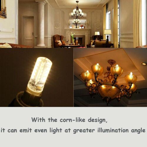 Mini G9 G4 LED Corn Bulb Dimmable Light E14 E12 6W 8W 10W 3014 SMD Lamp 110//220V