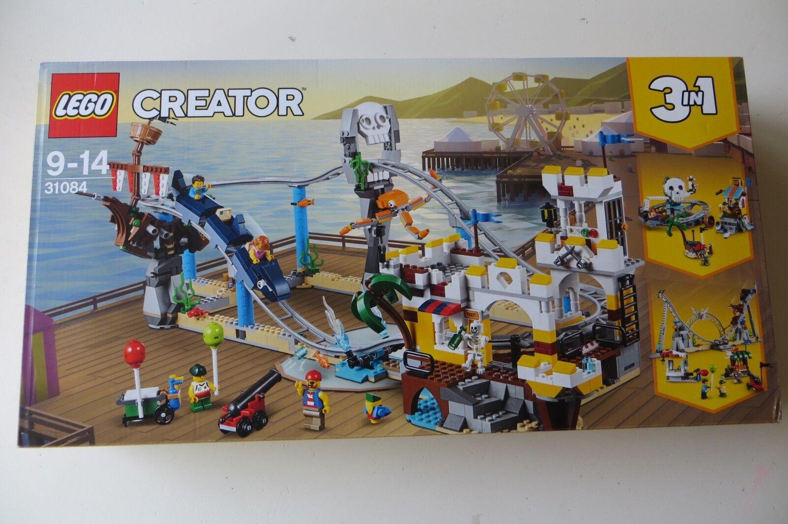 Nuovo Sealed Lego Creator 31084 Pirate Roller Coaster