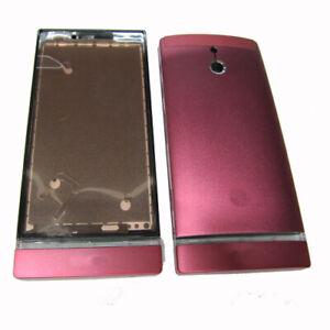 Full-Fascia-Housing-Back-Battery-Cover-Bezel-For-S-E-Xperia-P-LT22-LT22i-Pink-UK